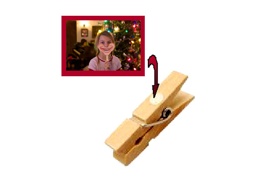 Idee Deco cadeau noel grand parents : Quoi offrir aux grands-parents ? Une guirlande de photos d'enfants ...
