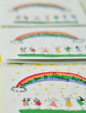 Invitation-anniversaire-arc-en-ciel